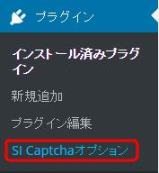 SI Captcha Option