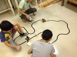 ライントレースロボットプログラミング