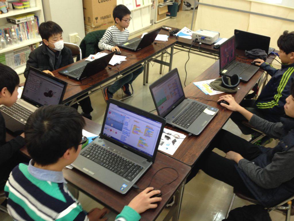 Scratchプログラミング教室