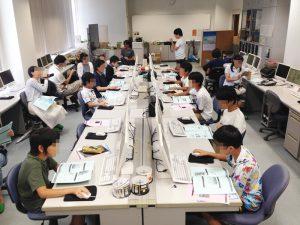 豊中市蛍池公民館Scratchプログラミング教室